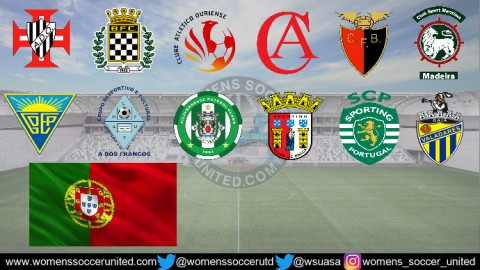 Sporting CP Lead Portugal Feminino Liga BPI 24th September 2018