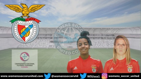 The Goals Don't Stop coming for Sport Lisboa Benfica Feminino