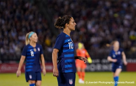 Lloyd scores hat-trick as USWNT beats Panama 5-0 at Women's World Cup qualifying