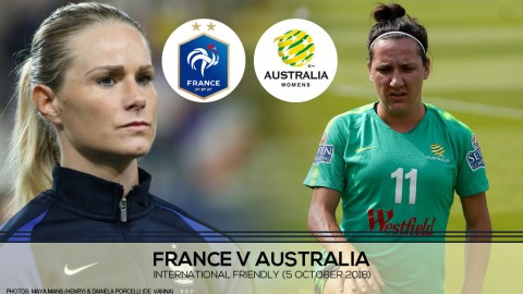 Live Match Centre: France v Australia | International Friendly (5 October 2018)