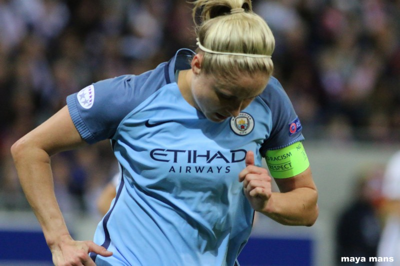 Steph Houghton pens new Manchester City deal - Womens Soccer United