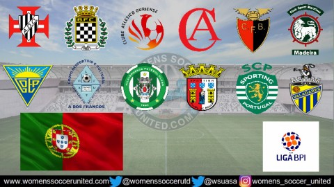 Sporting Braga Lead Portugal Feminino Liga BPI 12th February 2019