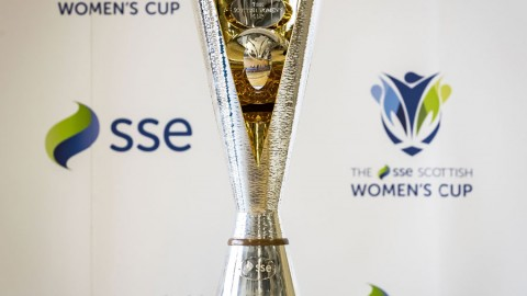 All new SSE Scottish Women's Cup trophy unveiled