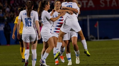 USWNT Will Travel to Europe in November to Play at Portugal and Scotland