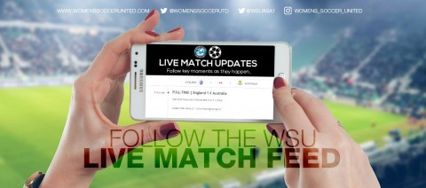Live Women's Football Match Updates