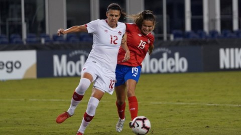 Canada is one win away from qualifying for FIFA Women's World Cup France 2019