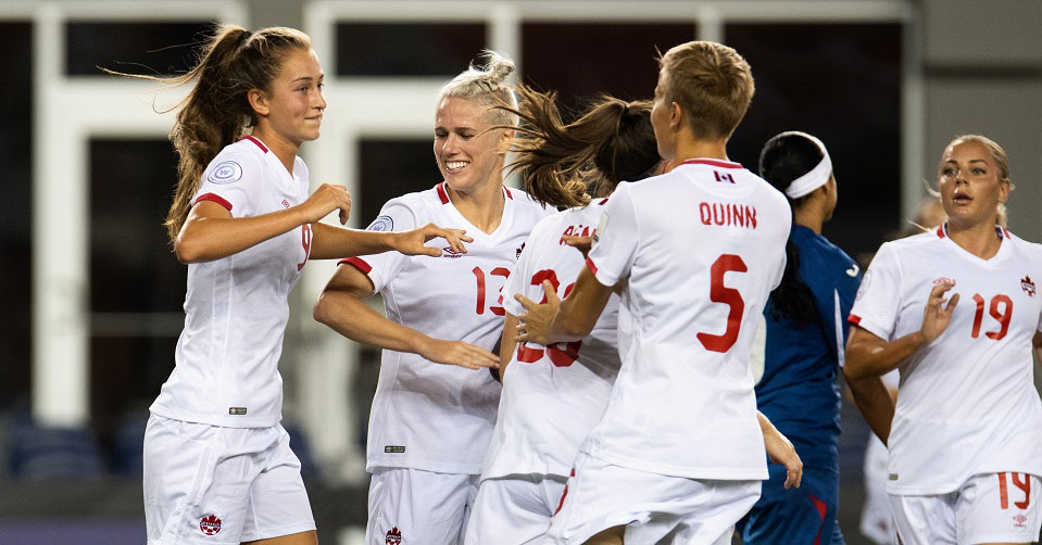 Canada downs Cuba 12-0 in their second 2018 Concacaf Women's Championship group stage match