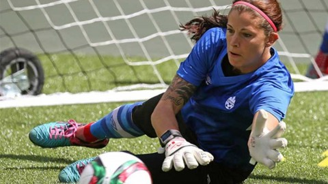 Nine current and former UWS stars took part in World Cup qualifying tournament