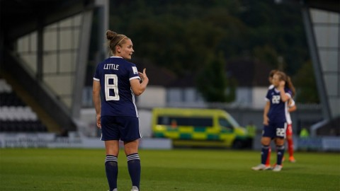 Arsenal and Scotland midfielder Kim Little out for up to 10 weeks