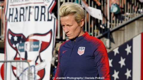 Megan Rapinoe among nominees for 2018 U.S. Soccer Female Player of the Year Award