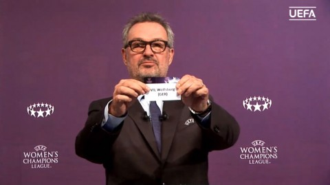 Result of the 2018/19 UEFA Women's Champions League Round of 16 draw