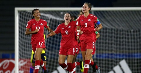 Canada open FIFA U-17 Women's World Cup Uruguay 2018 with 3-0 victory over Colombia