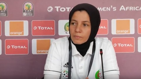 Women's football coaches in Arab countries