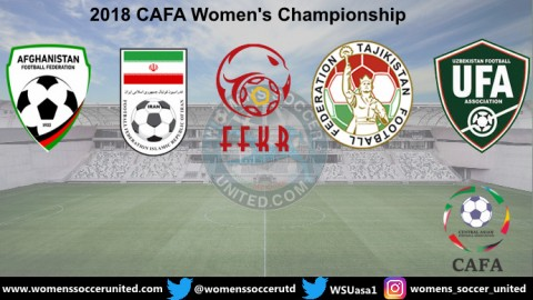 2018 CAFA Women's Championship Match Fixtures and Results