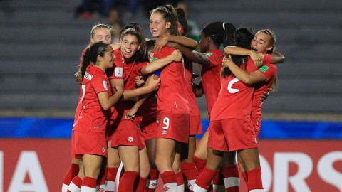 Canada make history with 1-0 Quarter-final win over Germany at Uruguay 2018