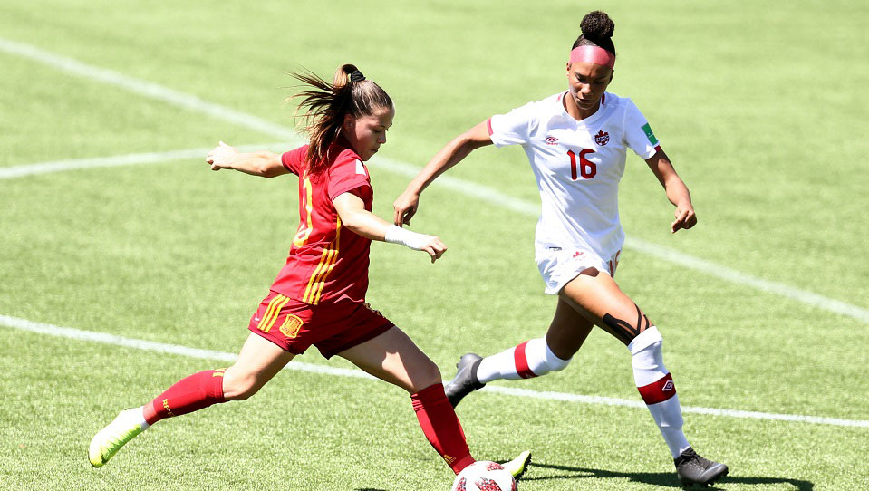 Canada face Germany in 2018 FIFA Under-17 Women's World Cup quarter-final