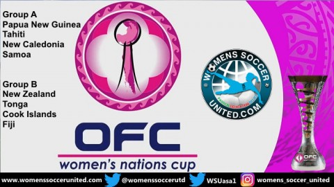 OFC Women's Nations Cup 2018 Match Fixtures and Groups