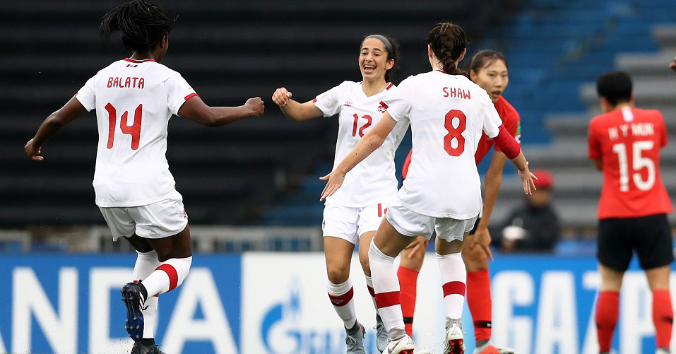 Canada in strong position to reach Quarter-finals at Uruguay 2018 with 2-0 win over Korea Republic
