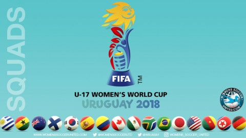 Official squad lists for all FIFA Under-17 Women's World Cup 2018 competing teams