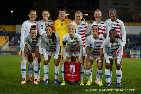 USWNT to open 2019 schedule in Europe with match against France