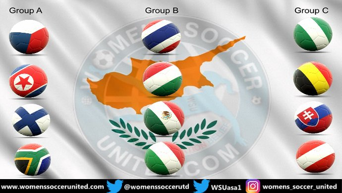 Cyprus Women's Cup 2019 teams and groups announced