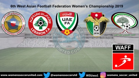 6th West Asian Football Federation Women's Championship 2019 Fixtures