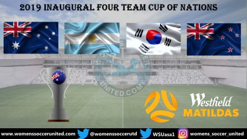 Australia will host the 2019 Inaugural four team Cup of Nations