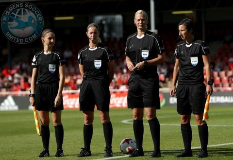Referees and Support Referees For FIFA Women's World Cup France 2019