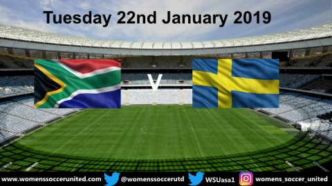 Peter Gerhardsson names Sweden Squad to play South Africa in January 2019