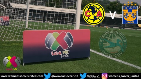 América will play Tigres UANL in the Grand Final Mexico Liga MX Femenil 2018