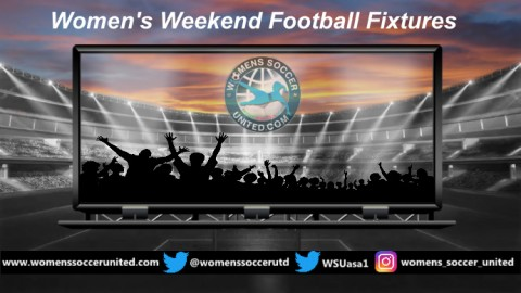 Women's Weekend Football Fixtures 30th and 31st March 2019