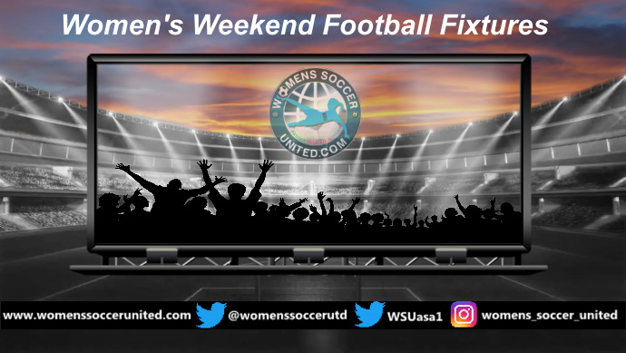 Women's Weekend Football Fixtures 14th and 15th September 2019 - Womens Soccer United