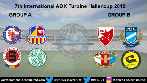 7th International AOK Turbine Hallencup 2019 Teams And Groups Announced