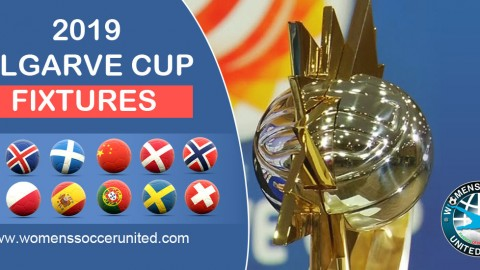 Algarve Cup 2019 Match Fixtures and TV broadcast information