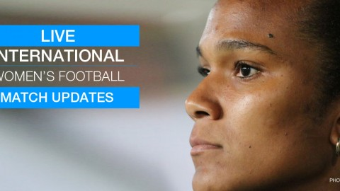 Live international women's football updates