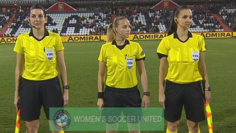 The Match Officials for the Algarve Cup 2019