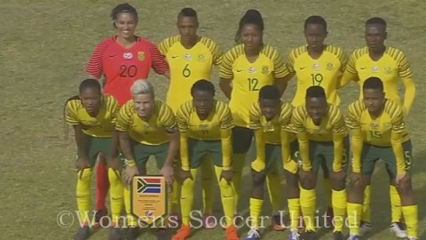 South Africa coach Desiree Ellis Names Squad for the 2019 Cyprus Cup