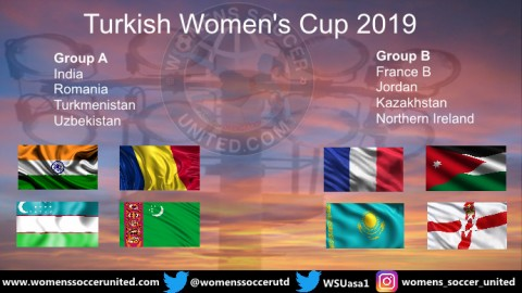 Eight Teams will take part in the 2019 Turkish Women's Cup