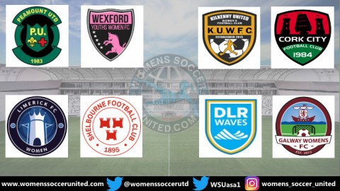 Republic of Ireland National Women's League 2019 Match Fixtures