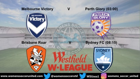 Sunday 10th February Westfield W-League Semi Finals Day