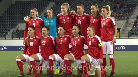 Switzerland Name Squad to play in the 2019 Algarve Cup