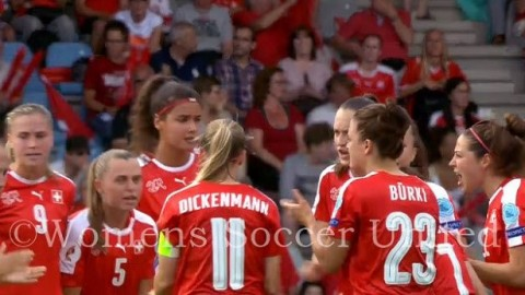 Switzerland name Squad to play in the Algarve Cup 2019