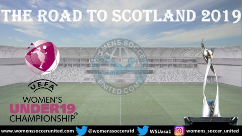 UEFA European Women's Under 19 Championship Elite Round Fixtures 2019
