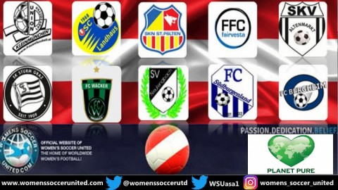 SKN St Pölten Frauen lead Planet Pure Frauen Bundesliga 24th March 2019