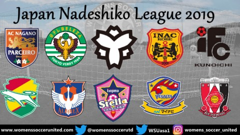 Opening Day Results Japan Nadeshiko League 21st March 2019