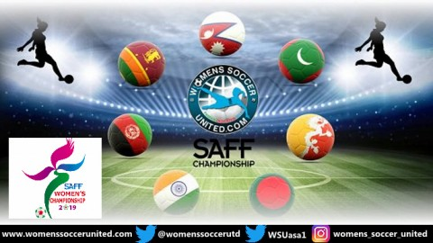 SAFF Women's Championship 2019 Fixtures and Groups