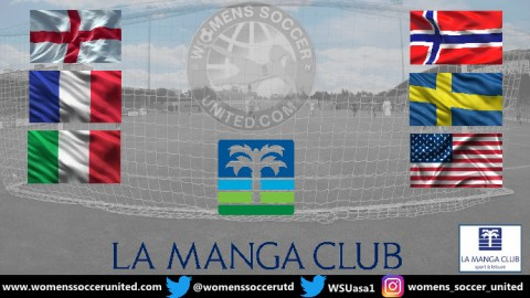Match Fixtures International Women's Under-23 Tournament La Manga 2019