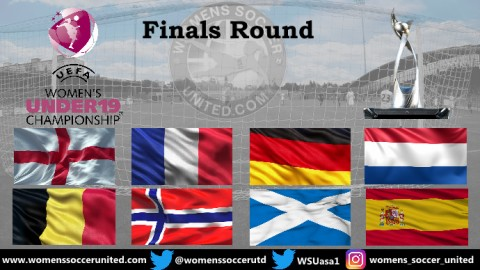 Eight teams Qualified for UEFA Women's U-19 Championship Finals Round 2019