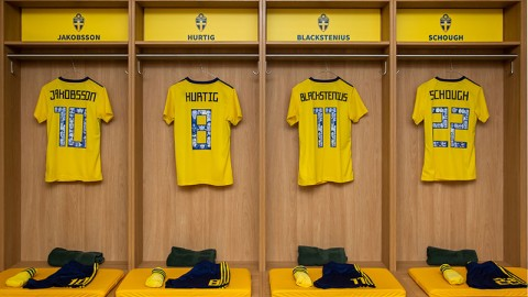 Swedish national team puts faces of 57 iconic women on the back of their new jersey