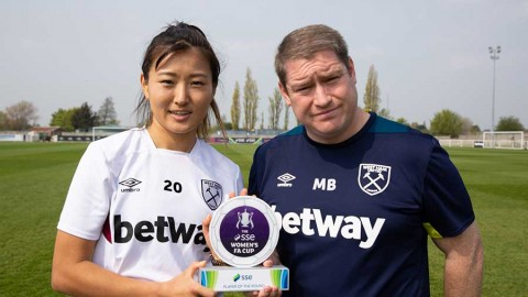 West Ham's Cho So-hyun wins SSE Women's FA Cup player of the round